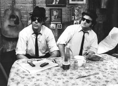 Blues Brothers - Elwood and Jake (Dan Aykroyd and John Belushi)