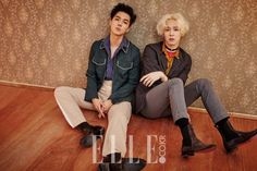 WINNER's Song Mino and Nam Tae Hyun Show Their Passion for Music in ELLE Magazine   Soompi