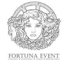 Эпичный логотип для ивент-агентства. #logo #fortuna