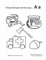 free printable coloring pages for every letter of the alphabet - Printable Colouring Pages For Toddlers