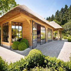 Terrasse von Rasenberg exclusieve tuinpaviljoens & eiken gebouwen b.v.