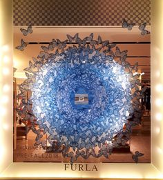 "FURLA, Piazza del Duomo, Milan, Italy, ""Today... Would be a lovely day to be a butterfly"", creative by Oltrefrontiera Progetti Srl, pinned by Ton van der Veer"