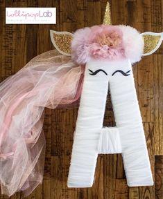 Items similar to Unicorn Letters decoration, backdrop, letters. Unicorn Birthday Parties, Unicorn Party, Birthday Party Decorations, Unicorn Rooms, Unicorn Bedroom, Little Girl Birthday, Baby Birthday, Decoration Table, Letters Decoration