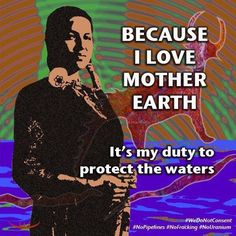 Love Mother Earth. Protect the waters.