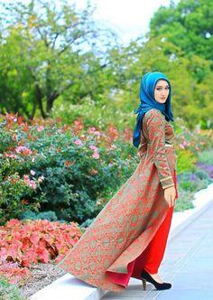 the Beauty of the Modesty Eid Outfits, Modest Outfits, Islamic Fashion, Muslim Fashion, Hijab Evening Dress, Hijab Dress, Hijab Outfit, Ugly Dresses, Girl Fashion