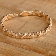 Solid gold Ronaldo Love Knot Bracelet