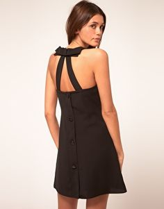 ASOS Swing Dress with Bow Back // $40.29