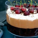 A new FREE recipe is available on Skinnymixerscom Black Forest Trifle Have a read of the blog post on why this recipe is healthier for you Christmas celebrations skinnymixer skinnymixers thermomix thermomixaus bimby bellini belliniaddicts glutenfree homemade