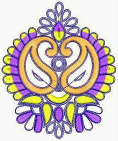 Paisley ontwerp Patch
