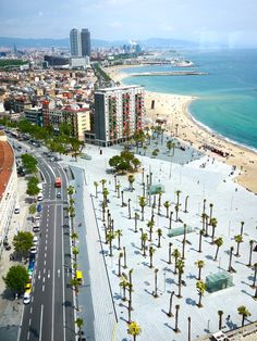 Barcelona, Spain - went to this beach, saw more than I bargained for and had AMAZING sangria with the familia