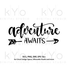 And So The Adventure Begins, Adventure Awaits, Cricut Svg Files Free, Free Svg Cut Files, Cricut Tutorials, Cricut Ideas, Arrow Svg, Arrow Shirts, Printable Designs