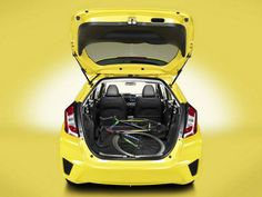 2016 Honda Fit Boot Space