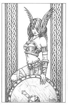Shield Maiden Brynja by MitchFoust.deviantart.com on @deviantART