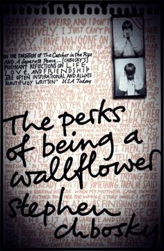 """The Perks Of Being A Wallflower-  """"That's why on the back of a brown paper bag he tried another poem And he called it """"Absolutely Nothing"""" Because that's what it was really all about  And he gave himself an A and a slash on each damned wrist And he hung it on the bathroom door because this time he didn't think he could reach the kitchen."""""""