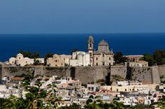 Lipari, Italy is the largest of the Aeolian Islands in the Tyrrhenian Sea off the north coast of Sicily, and the name of the island's main town.