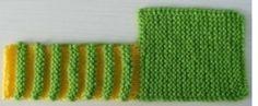 Örgü Karpuz Patik Modeli Yapılışı 3.5 numara şişle 25 ilmek başlayın.32 sıra olana kadar haroşa örün.8 ilmek kesin ve beyaza geçin.2 kere gidip gelin.Bir yeşil,bir beyaz olarak örmeye devam edin.6 tane yeşil çizgi olana kadar örün.örgüyü kesin ve resimde olduğu gibi katlayıp dikin.Çizgi çizgi duran kısmın hem altını,hem üstünü dikin.Patiği ters çevirdikten sonra boğaz kısmını …