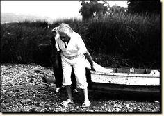 Fotografía de Albert Einstein,1937,Huntington, Long Island. Image © Lotte Jacobi Collection, University of New Hampshire.