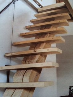 Rustic Staircase, Staircase Design, Loft Stairs, House Stairs, Home Room Design, House Design, Diy House Updates, Casa Loft, Bedroom Setup