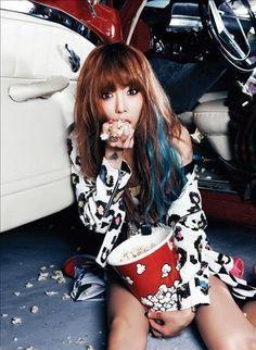 Hyuna ^^ <3 meh other idol besides Rihanna and d-trix <3