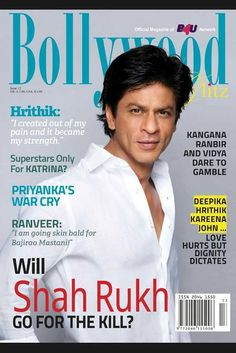 Shah Rukh Khan in Bollywood Magazine UK Bollywood Gossip, Bollywood Stars, Shahrukh Khan, Cover Boy, Best Hero, Akshay Kumar, Indian Movies, Future Goals, Film Industry