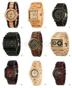 Relógios WeWood.