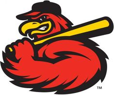 The Birdist: Grading Bird-themed Minor League Baseball Teams Baseball Mascots, Baseball Teams, Cardinals Baseball, Bodybuilding Logo, Hockey, Sports Team Logos, Sports Banners, Minor League Baseball, Bird Logos