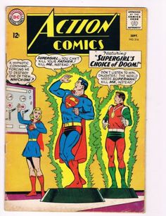 Action-Comics-316-DC-Comic-Book-Awesome-Issue-Silver-Age-Superman-WOW-S37
