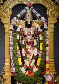 Today's Darshan (12-09-12) Lord Balaji @ISKCONPune