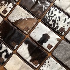 43cfafcc2f43 Cowhide for days! The STS magnetic wallets and crossbody bags are BACK!  Snag your