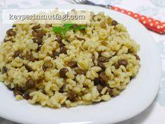 Yeşil Mercimekli Bulgur Pilavı - Kevser'in Mutfağı - Yemek Tarifleri