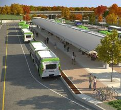 CTfastrak Bus Rapid transit system, Conneticut, USA. Click image for link to full story and visit the slowottawa.ca boards >> http://www.pinterest.com/slowottawa/