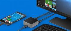 مايكروسوفت تبتكر جهاز display Dock الذي يحول الهاتف الذكي إلى جهاز كمبيوتر