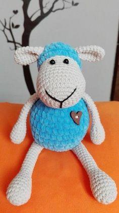 Crochet sheep - ovečka