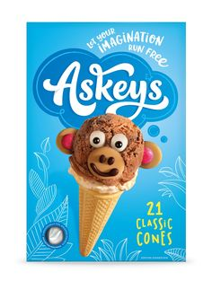Creative Agency: Family (and friends) Project Type: Produced, Commercial Work Client: Askey's Location: United Kingdom Packaging Conte. Bad Room Ideas, Packaging Design Inspiration, Lettering Design, Pop Tarts, Make Your Own, Snack Recipes, Ice Cream, Yummy Food, Fun