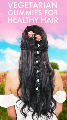 SugarBearHair gummies contain 13 vitamins, including Biotin and Folic Acid, to support healthy hair from the inside out.