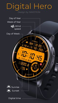 Digital Hero Facer: the world's largest watch face platform Best Watches For Men, Luxury Watches For Men, Huawei Watch, Casio Watch, Stylish Watches, Cool Watches, Casual Watches, Sport Watches, Gadget Watches