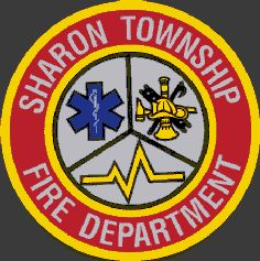 Sharon Township Fire Department (OH) Patch   www.setcomcorp.com