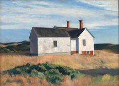 Edward Hopper - Ryder's House, 1933.