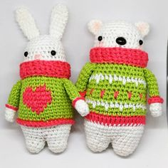 "35 Likes, 1 Comments - RandomStuffed Ira (@randomstuffedira) on Instagram: ""#winter #amigurumi #crochet #animals #randomstuffed #חיות #חורף #בובות #סרוגות #מלא_דברים #סופש…"""