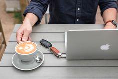 Orbitkey Tan Leather MacBook Pro