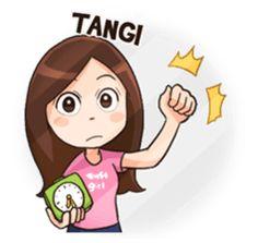 Lola Medok Suroboyoan 2 by Gangsar sticker Emoji Images, Cartoon Jokes, Line Store, Funny Stickers, Line Sticker, Love Drawings, Galaxy Wallpaper, Emoticon, Islamic Art
