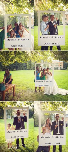 DIY wedding: 30 ideas to make an original photobooth Organisation mariage Wedding Bells, Wedding Reception, Polaroid Wedding, Dream Wedding, Wedding Day, Trendy Wedding, Wedding Vintage, Wedding Trends, Wedding Photo Booth