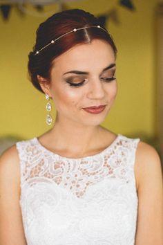 Wedding Pearl Headband Chain Bridal Headband Pearl Headband Pearl Headband, Wedding Headband, Pearl Chain, Brides, Hair Accessories, Bronze, Rose Gold, Pearls, Trending Outfits