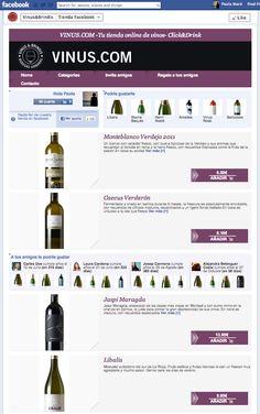 En VINUS se preocupan por seleccionar los mejores vinos para ofrecer una verdadera selección de calidad con la que disfrutar de grandes momentos. ¡Entra en su tienda en Facebook y descubre los vinos que ofrecen!