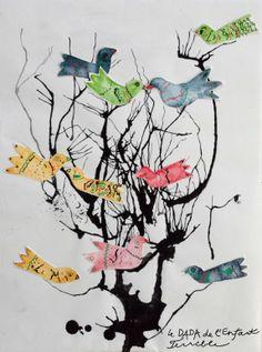 Les oiseaux dans les branches / Ptaci ve vetvich http://dadaenfantterrible.blogspot.fr/2014/02/les-oiseaux-dans-les-branches-ptaci-ve.html