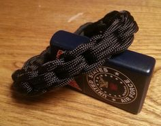 Unique Chainlink Braid Handmade Paracord by MonkeyFighterPCord, $7.00