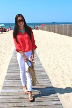 Perfect Outfit Ideas with White Jeans  (21)