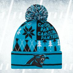 FOLLOW and REPIN this photo for a chance to win this Panthers knit beanie! One winner chosen at 2PM TOMORROW (we'll direct message you on Pinterest) #KeepPounding