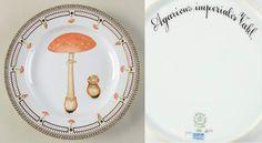 Flora Danica Fungi Collection Dinner Plate by Royal Copenhagen Flora Danica, Mushroom Art, Royal Copenhagen, Fungi, Dinner Plates, Entertaining, Tableware, Crafts, Collection