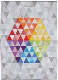 In the Middle - Modern quilt patterns for beginners